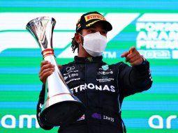 Hamilto llegó a su victoria 98 en la Fórmula 1.