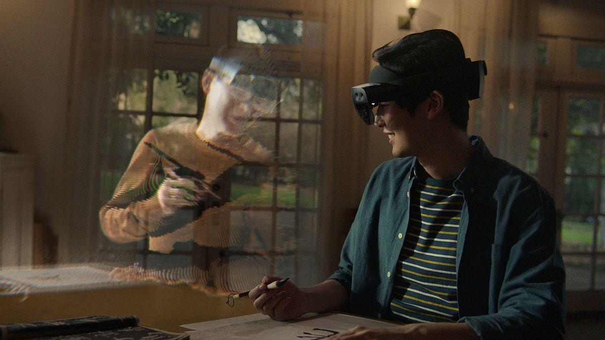 Reuniones virtuales con hologramas, el futuro según Microsoft