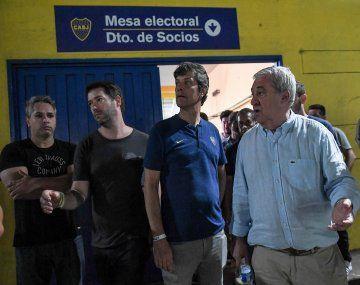 Jorge Amor Ameal será el próximo presidente de Boca, junto a sus vicepresidentes Mario Pergolini y Juan Román Riquelme.