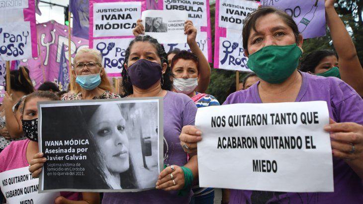 Hubo marchas en Córdoba por el crimen de Módica