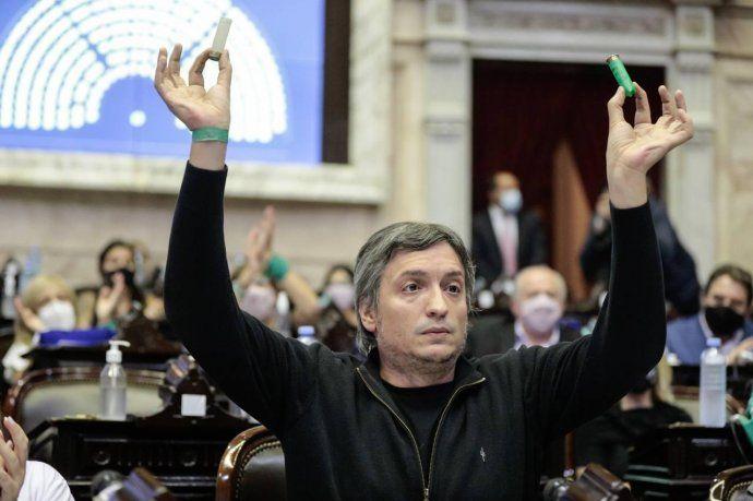 Máximo Kirchner recordó la votación de la reforma jubilatoria de Macri.