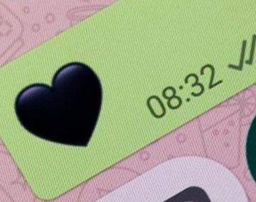 Detrás del corazón negro hay un significado que pocos conocen.