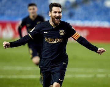 Lionel Messi es el goleador de LaLiga con 23 tantos, cuatro más que su escolta, el uruguayo Luis Suárez.