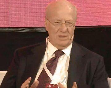 José Ignacio De Mendiguren acusó a Paolo Rocca de elegir la nueva conducción de la UIA.