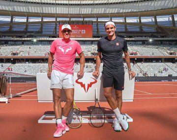 Roger Federer felicitó a Rafael Nadal por haberlo alcanzado en Grand Slam ganados.