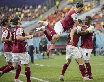 Austria hizo historia en la Eurocopa.