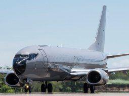 Fuerza Aérea recibe Boeing 737 para logística y sanitario
