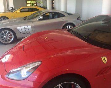 Vuelven a subastar los lujosos autos del sindicalista Marcelo Balcedo