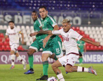 Lanús jugó en Asunción por la crisis social en Colombia.