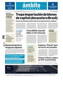 Tapa Edicion Impresa del 2021-04-13
