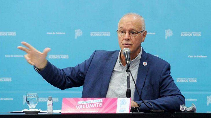Gollan aseguró que la provincia de Buenos Aires no registra casos de la variante Delta