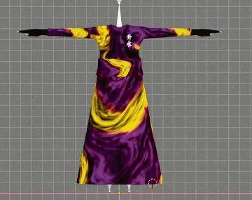 Kimonos virtuales. No existen en la realidad, pero cuestan u$s140.