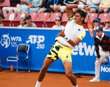 El rosarino, ubicado en el puesto 77 del ranking mundial de la ATP, concretó de todos modos la mejor actuación de su carrera, ya que por primera vez se instaló en una definición de torneo.