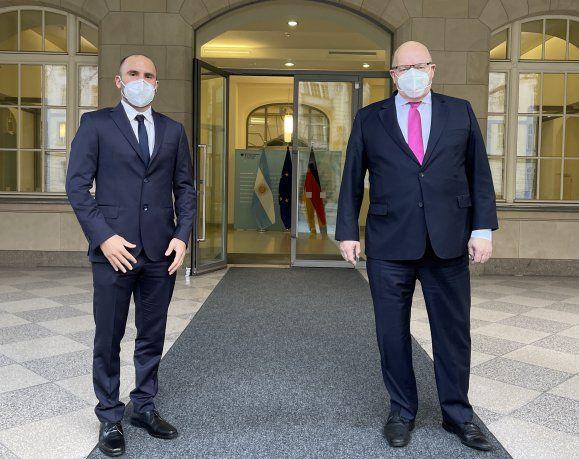 El ministro de Economía martín Guzmán inicia hoy su gira por Europa.