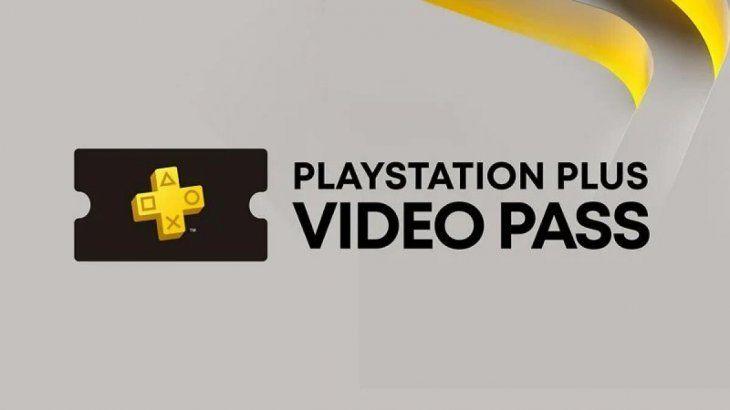 Así es el logo de PlayStation Plus Video Pass.