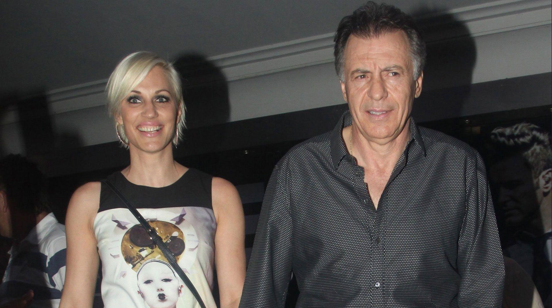 Ingrid Grudke y Cristóbal López.