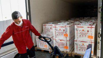 El Gobierno anunció el arribo de nuevas dosis de AstraZeneca.