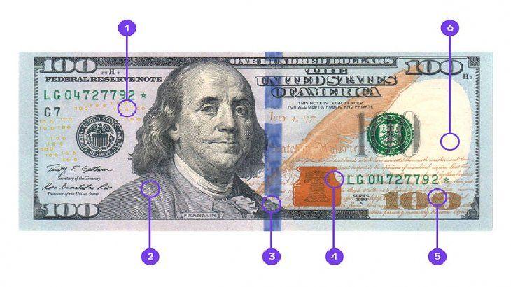 Aunque se dice que los billetes Blu 100 son falsos, es aconsejable tomar las mismas medidas preventivas que otros billetes.