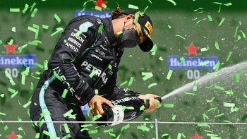 No hay quien lo pare. Lewis Hamilton volvió a ganar en la Fórmula 1.