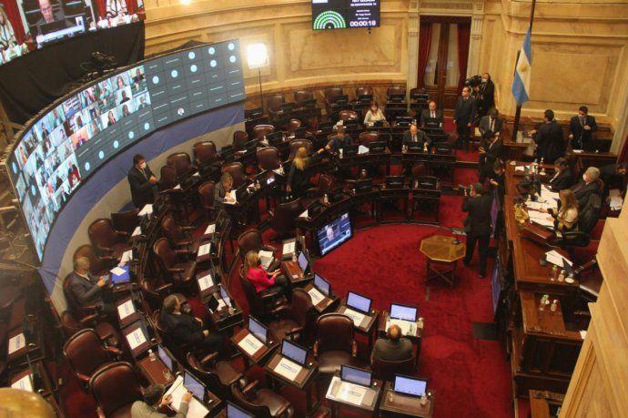 El Senado volverá a sesionar este jueves con varios temas en agenda