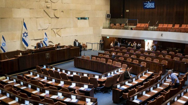 Israel: convocan otra vez a elecciones tras la disolución del Parlamento