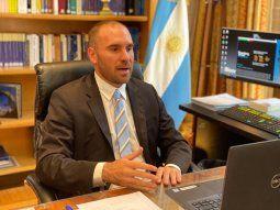 El ministro de Economía, Martín Guzmán, identificó metas a corto y medino plazo.