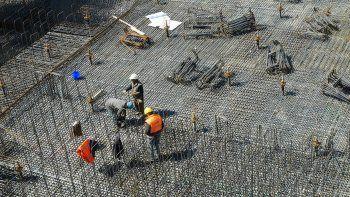 La venta de insumos para construir creció 11,3% en agosto.