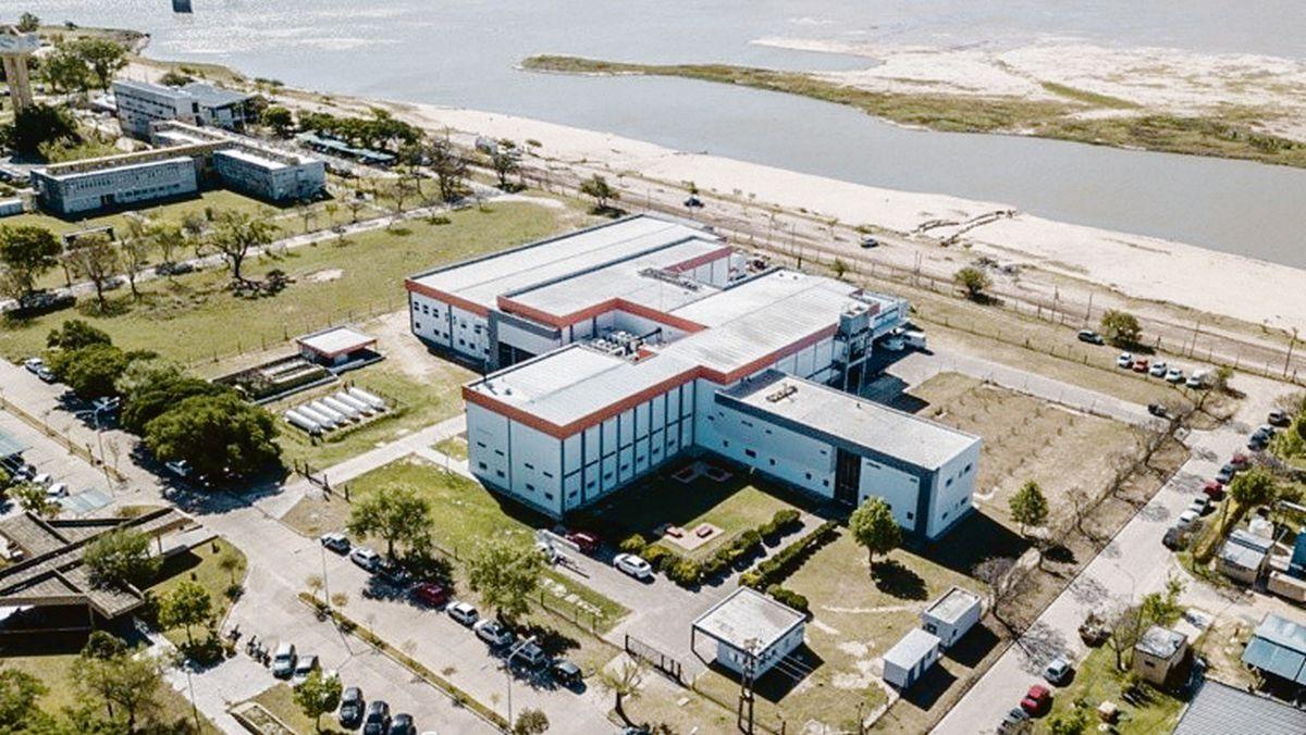 ampliación. Vista de la nueva planta de Zelltek en Santa Fe.