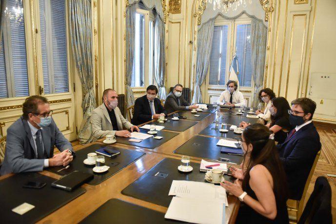 Reunión del Gabinete Económico