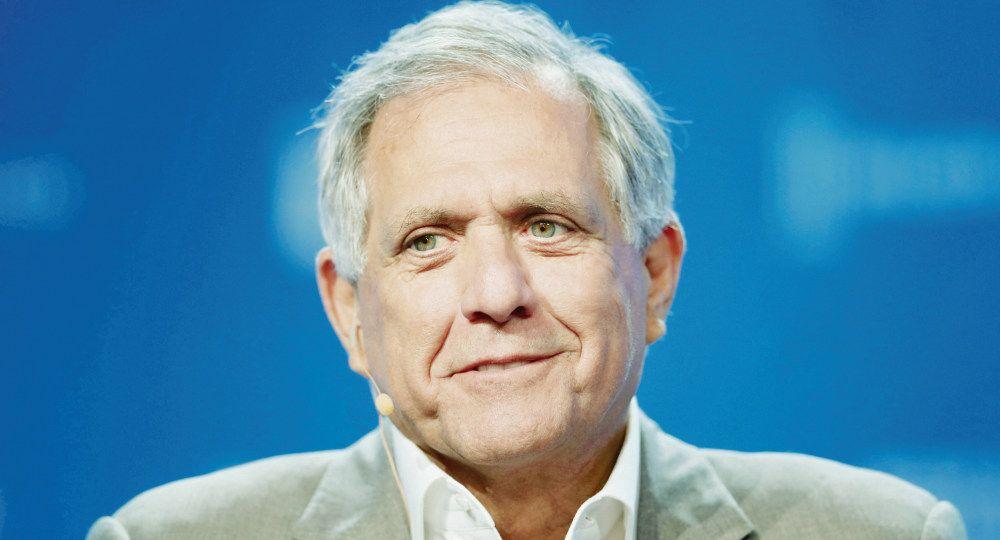 En picada. Leslie Moonves dirigió la cadena durante quince años. Fue considerado una de las personas más influyente de la TV de EE.UU.
