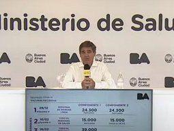 El ministro de Salud de la Ciudad de Buenos Aires, Fernan Quirós, confirmó que a partir del miércoles se habilitará una opción en el 147 para adultos mayores que no puedan salir de su domicilio,