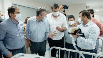 herrera ahuad: inauguramos uno de los hospitales mas avanzados en la argentina en equipamiento y tecnologia