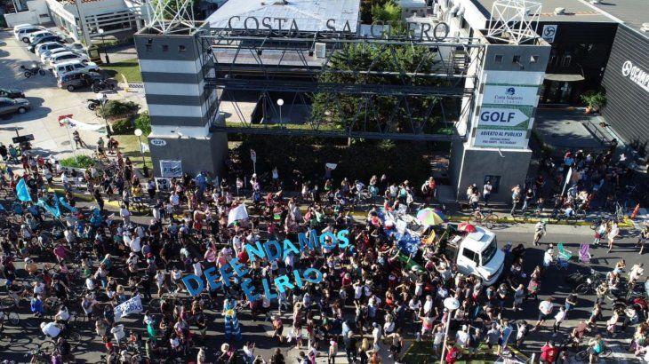 Terminó el primer día de la audiencia por la rezonificación de Costa Salguero y Punta Carrasco