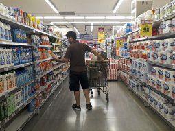 La facturación de los supermercados cayó un 2,3% interanual en septiembre.