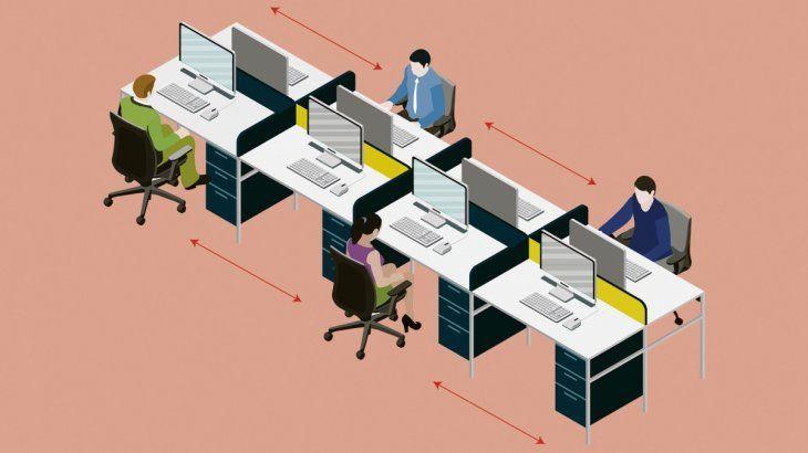Teletrabajo pone en jaque oficinas, pero potencia el coworking