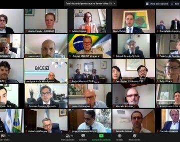 Reunión virtual entre el BICE y la embajada de Brasil para potenciar exportaciones a ese mercado.