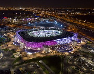 Uno de los lujosos estadios que tendrá el Mundial Qatar 2022.