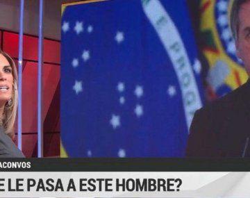 Bolsonaro se la puso muy adentro: otro exabrupto de Viviana Canosa contra Alberto Fernández