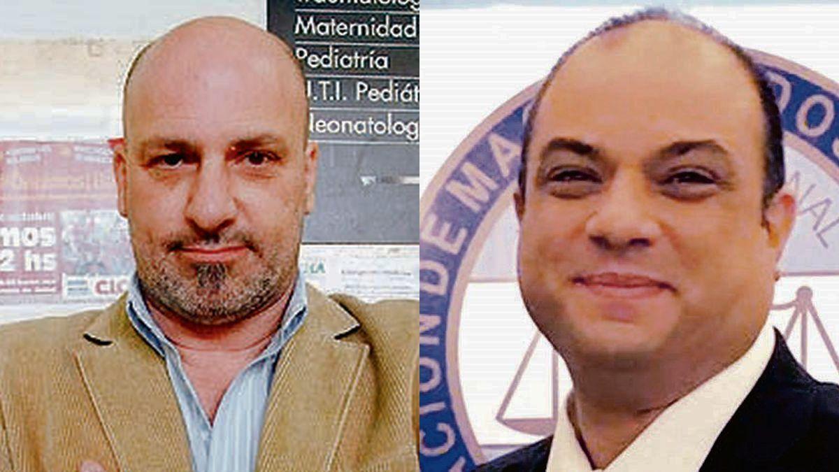 Mariano Althabe y Esteban Fumari.
