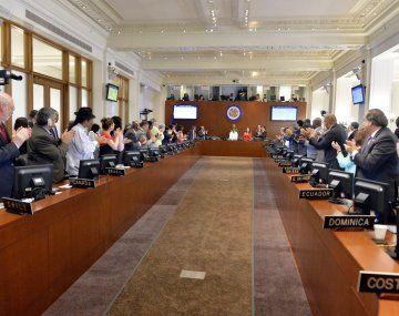 La OEA pidió el llamado a elecciones lo más pronto posible en Bolivia