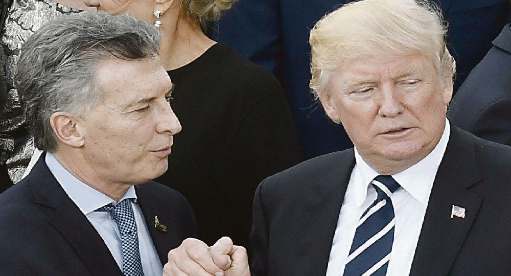 Mauricio Macri y Donald Trump.