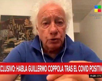 GuillermoCoppola contrajo coronavirus en los festejos de fin de año.