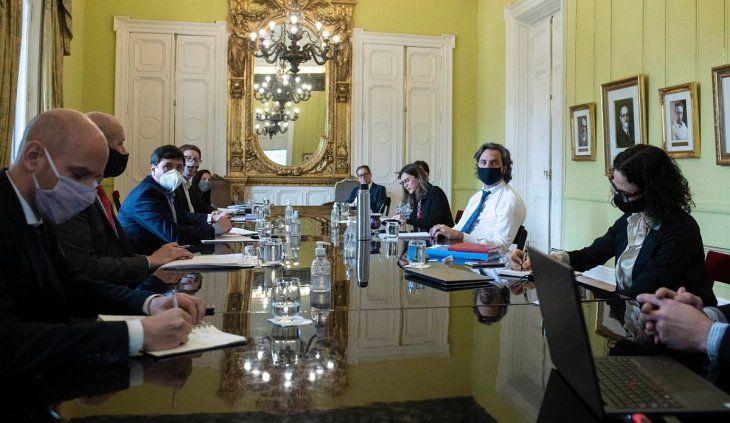 Reunión del Gabinete Económico (Foto: archivo)
