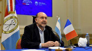 Omar Perotti anunció nuevas restricciones contra el Covid-19.