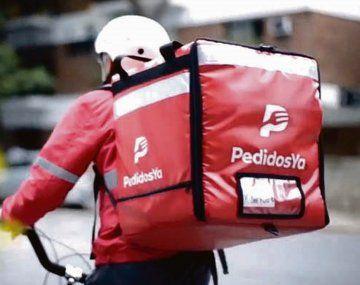 La plataforma de delivery PedidosYa fue multada por la Secretaría de Comercio.