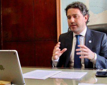 Francisco Cafiero durante la aperta del segundo año de EDUA