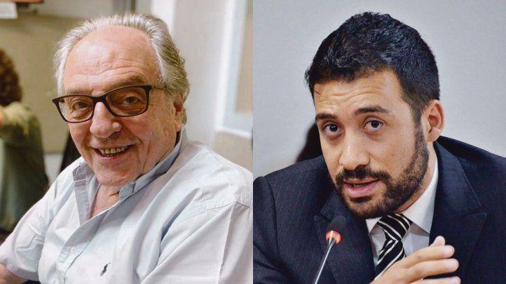 Carlos Heller y Alejandro Cacace.