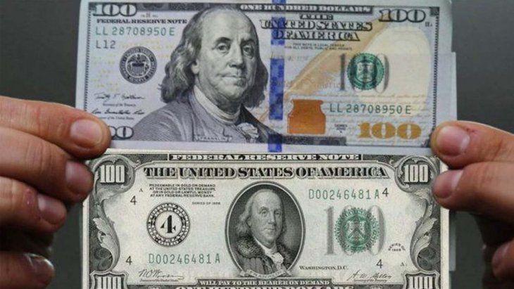 El dólar cara grande y el cara chica.