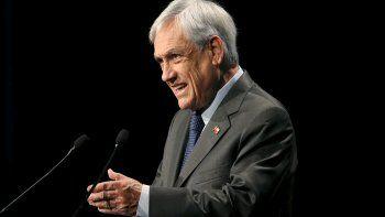 Sebastian Piñera, Presidente de Chile.