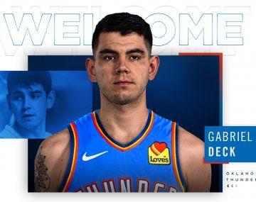 Gabriel Deck fue oficializado como nuevo jugador de Oklahoma City Thunder.